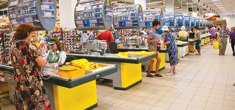 Помощь пенсионерам: флешмоб в столичных супермаркетах